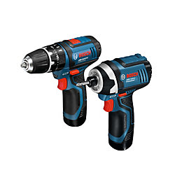 Bosch Professional 2Ah Li-Ion Drill & Driver Twin