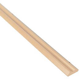 IT Kitchens Beech Effect Wall Corner Post (H)715mm