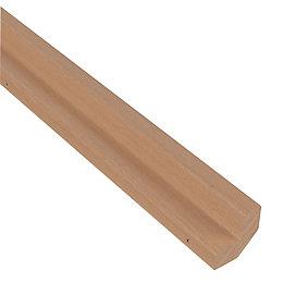IT Kitchens Solid Oak Base corner post (H)715mm