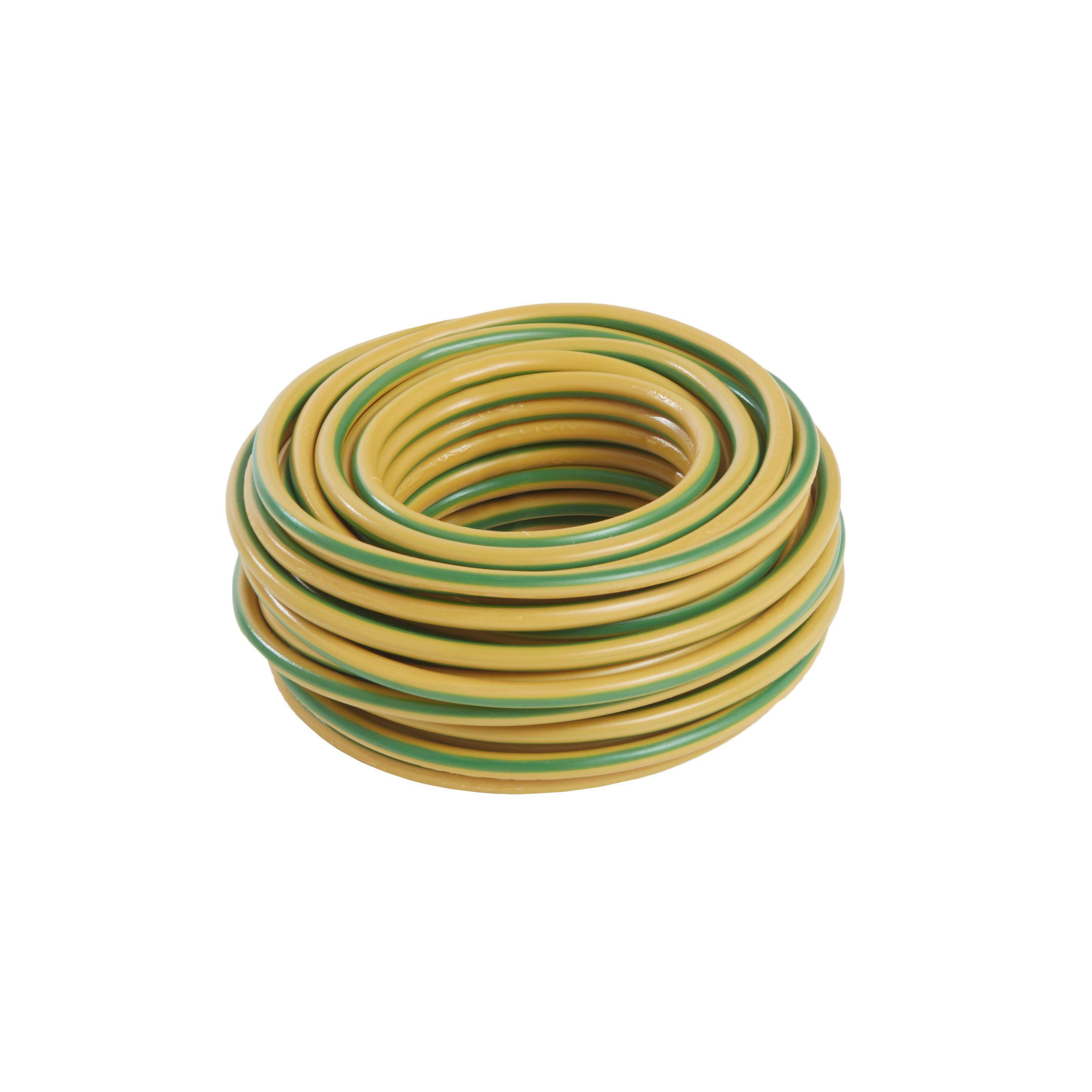 Nexans 6491X 1 core 6mm² Conduit wiring, 10m | Departments | DIY at on