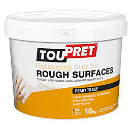 Toupret Rough surface Ready mixed Smoothover finishing plaster