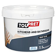 Toupret Tiled surface Ready mixed Smoothover finishing plaster 5kg