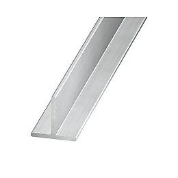 Aluminium T Profile (H)20mm (W)20mm (L)2m