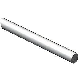 FFA Concept Aluminium Round Metal rod (L)1m (Dia)10mm