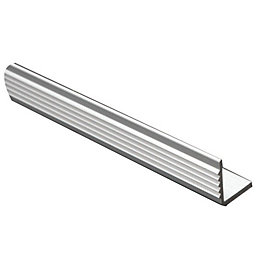 FFA Concept Anodised Aluminium Square Edge Step Edging,