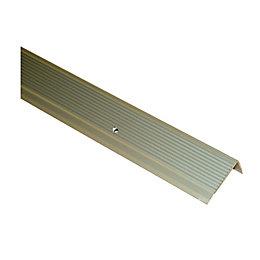 FFA Concept Anodised Aluminium Square Edge Step Edging,