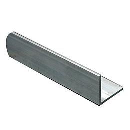 Aluminium Corner (H)10mm (W)10mm (L)1m