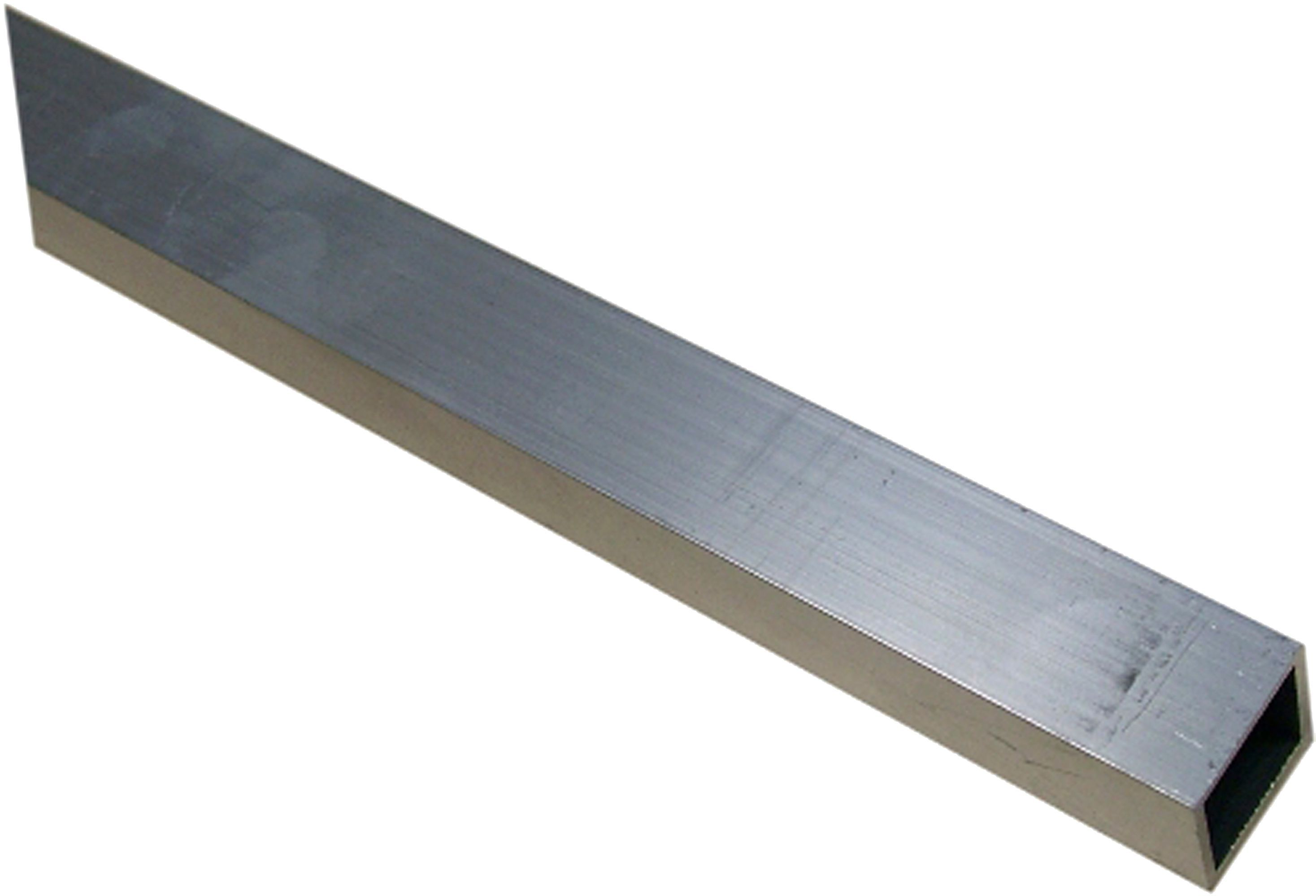 Aluminium Square Tube H 20mm W 20mm L 1m Departments