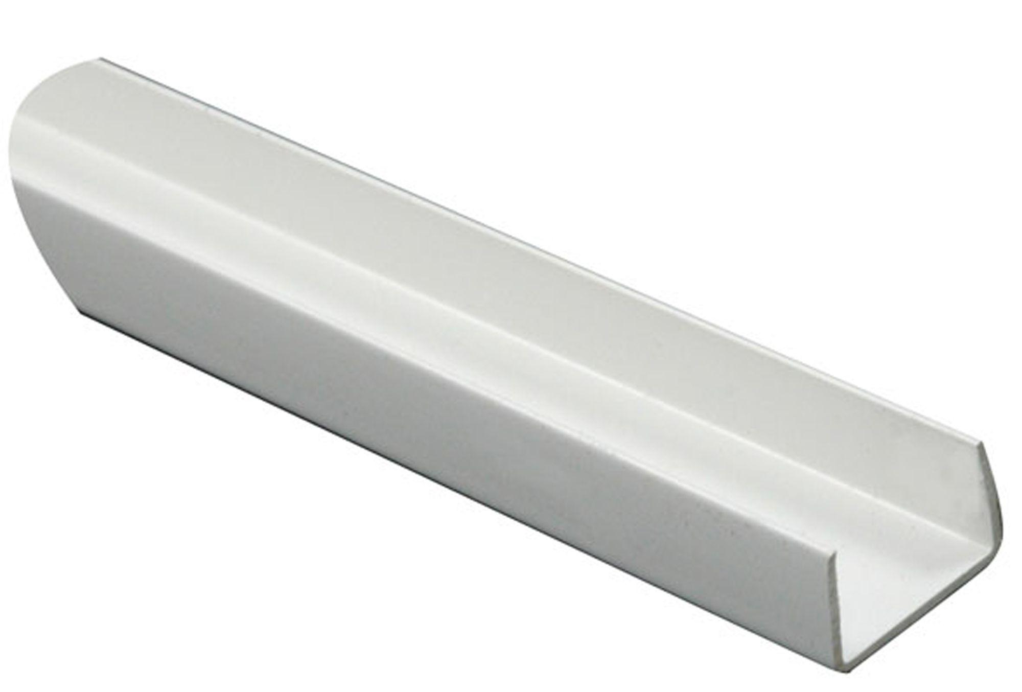 Extrem White PVC U profile (H)10mm (W)18mm (L)2m | Departments | DIY NA12