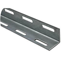 Varnished Steel Corner (H)27mm (W)27mm (L)2m