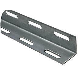 Varnished Steel Corner (H)38mm (W)38mm (L)2m
