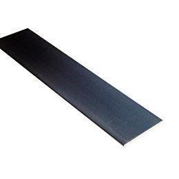 Aluminium Panel (L)1m (W)25mm (T)2mm
