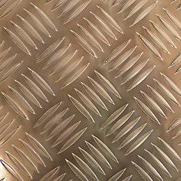 Aluminium Panel (L)1m (W)500mm (T)1mm