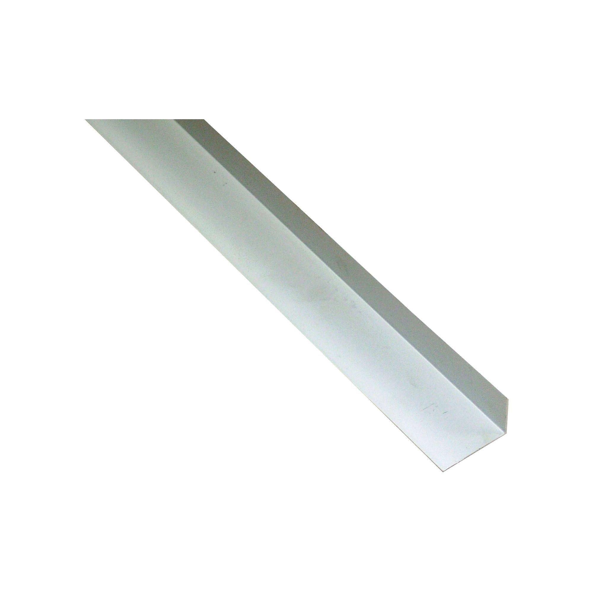 White Pvc Corner H 15mm W 25mm L 1m Departments Diy