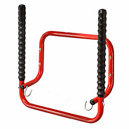 Mottez Red Steel Bike Hanger
