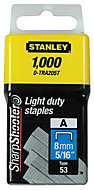 Stanley Staples 0-TRA205T (L)99mm 41g, Pack of 1000