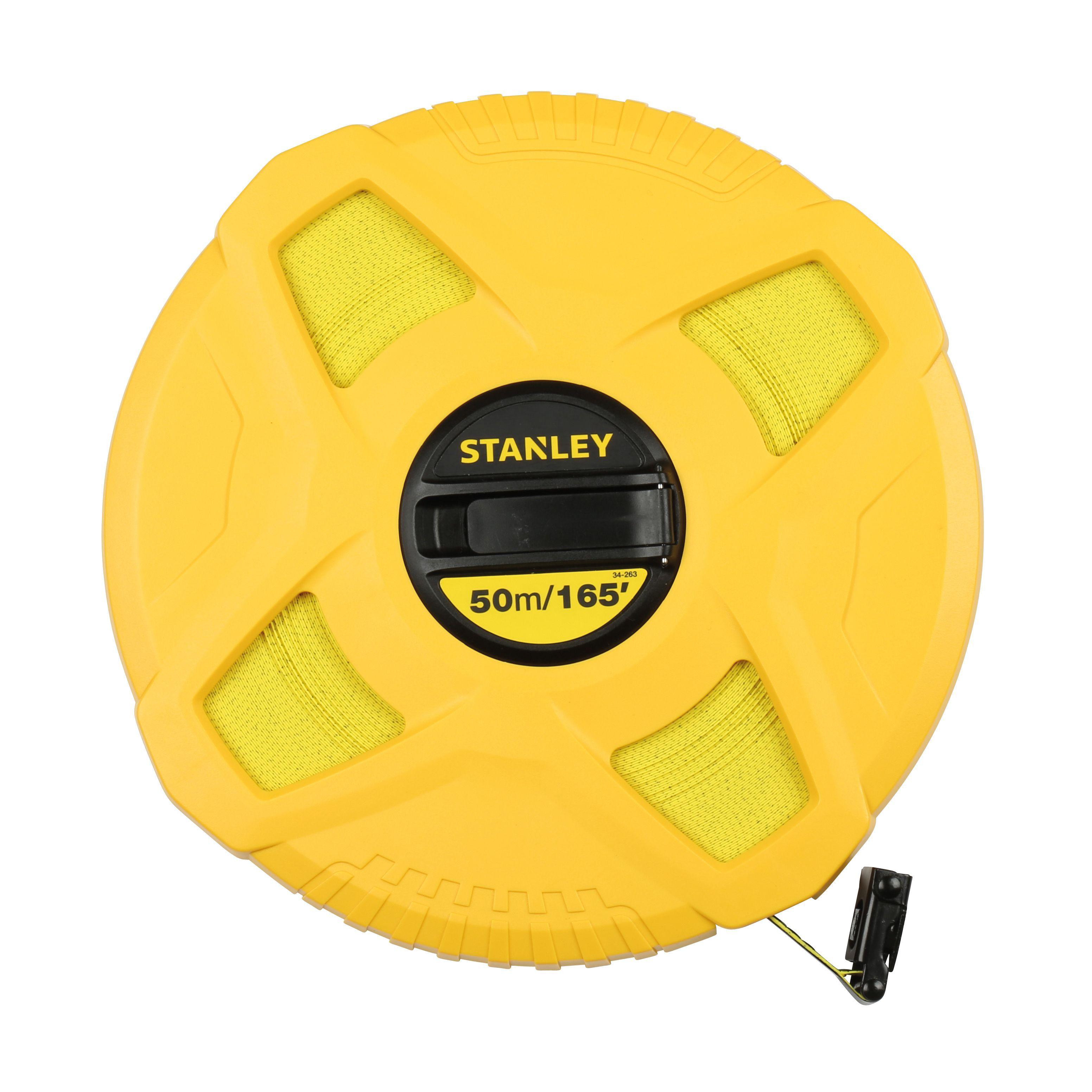 Stanley 50m Tape Measure Departments Diy At B Amp Q