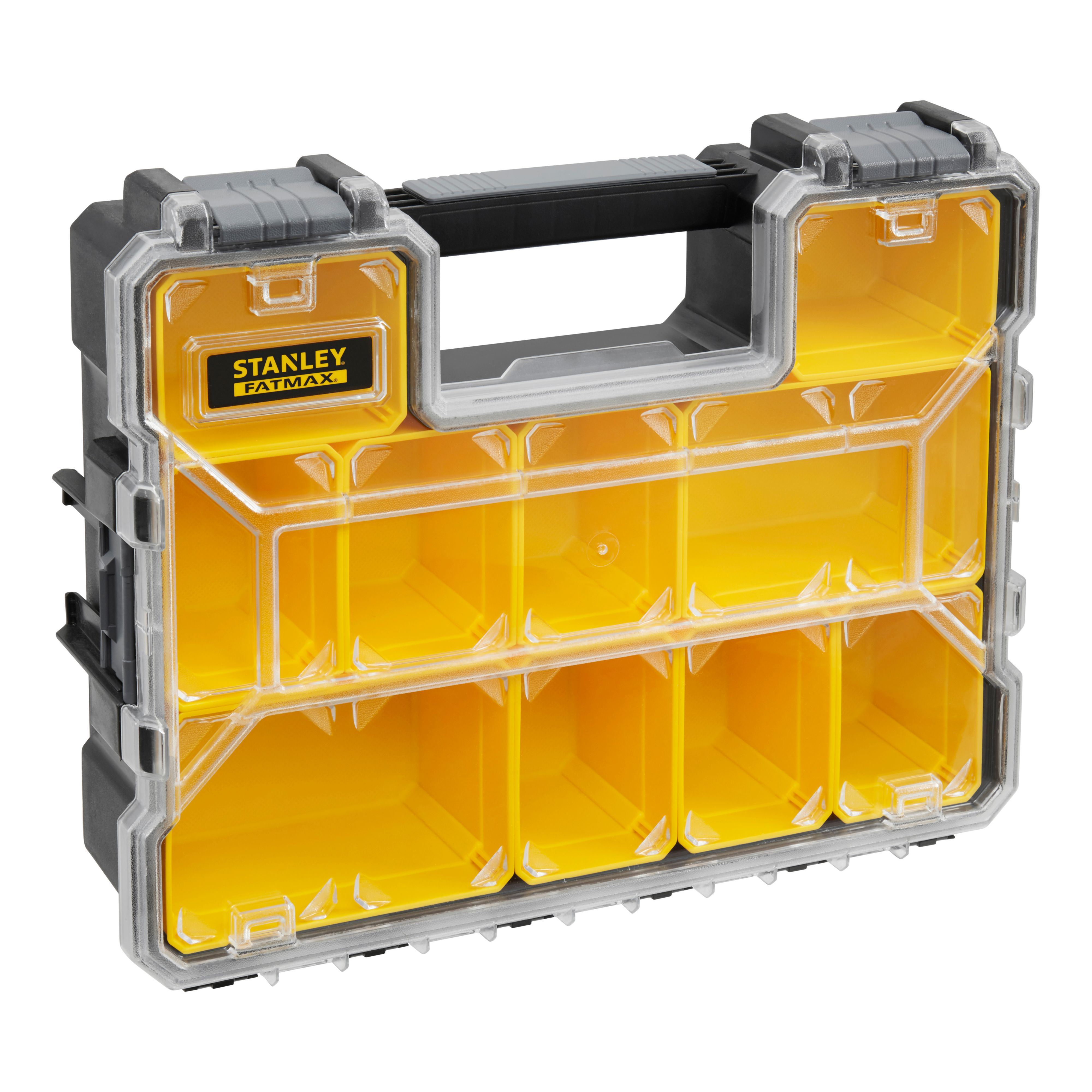 Stanley Fatmax 10 Compartment Tool Organiser Departments