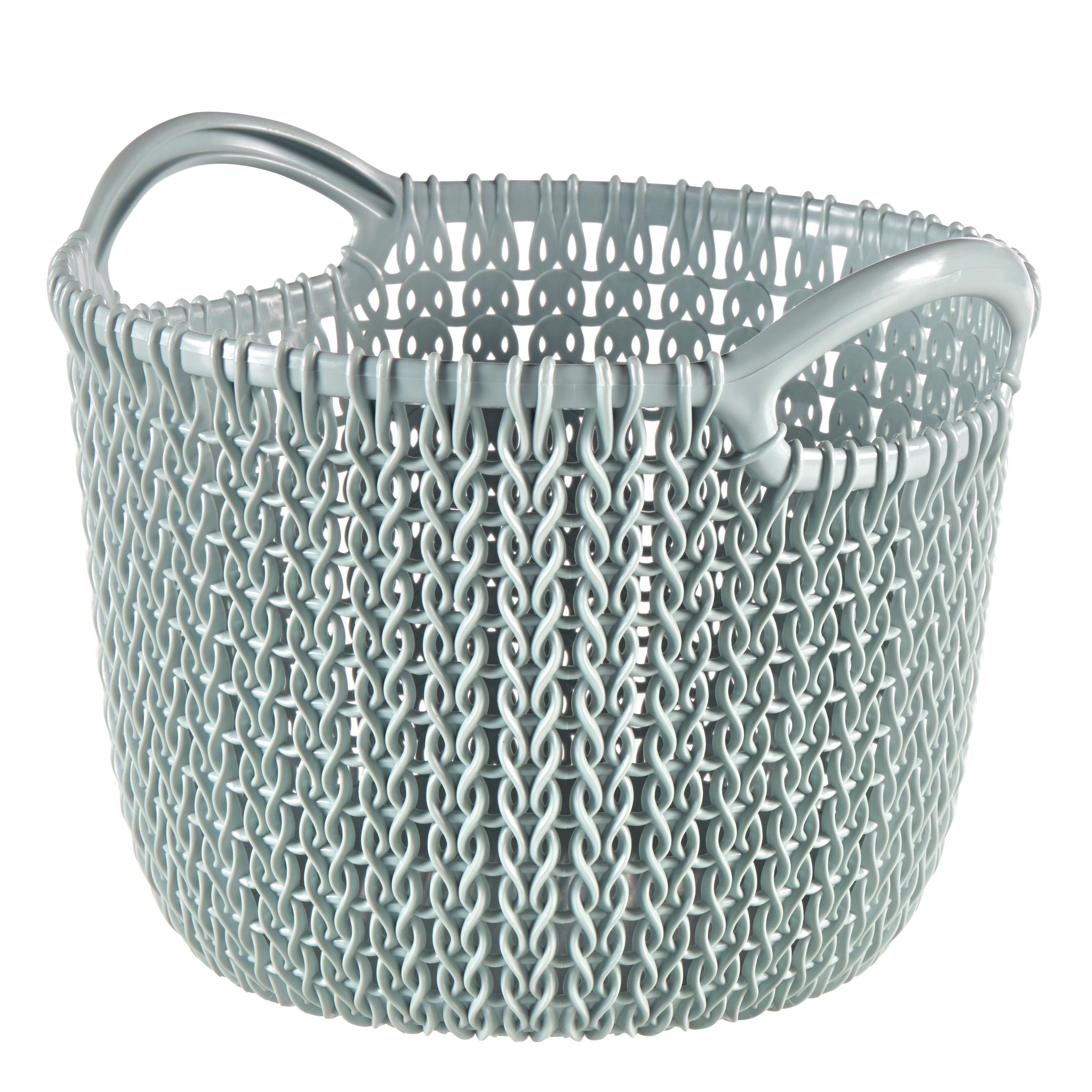 Curver Knit Collection Misty Blue 3l Plastic Storage