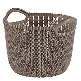 Curver Knit Collection Harvest Brown 3L Plastic Storage