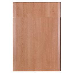 IT Kitchens Sandford Cherry Effect Modern Drawerline Door