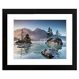 Misty Summer Blue & Pink Framed Art (W)540mm