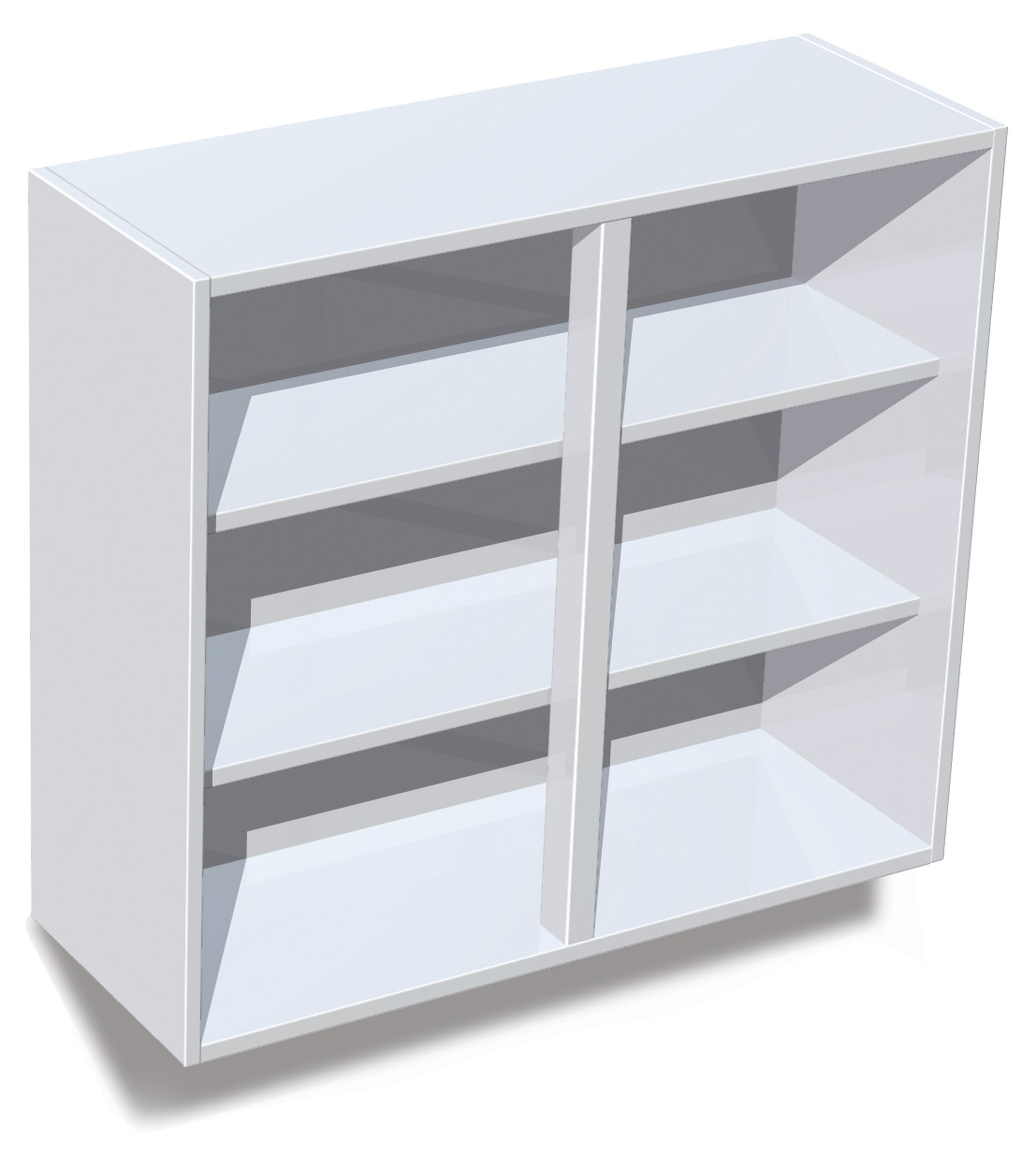IT Kitchens White Standard Wall Cabinet (W)800mm