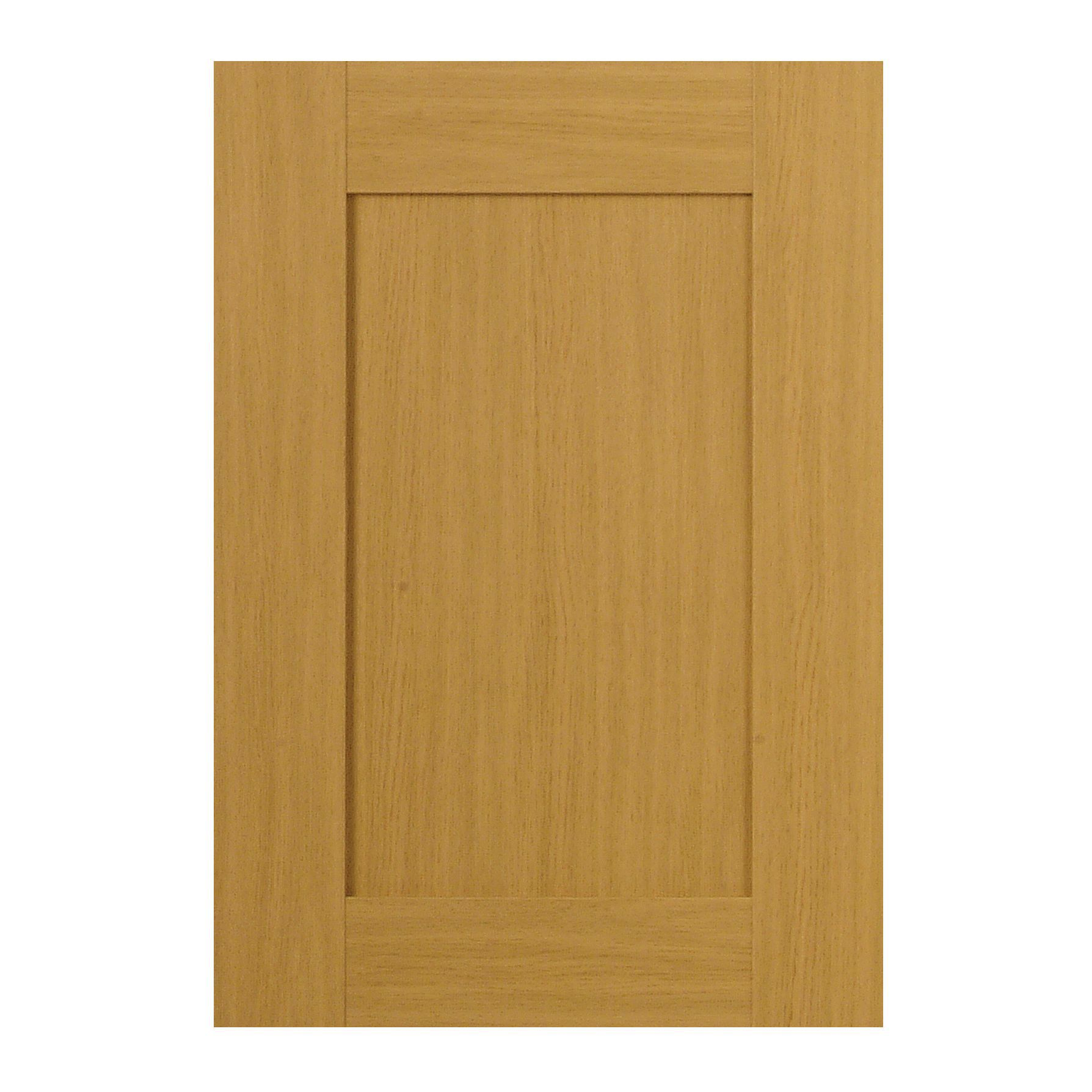 IT Kitchens Oak Style Shaker Full Height Door W500mm