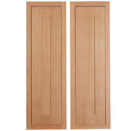 Cooke & Lewis Carisbrooke Oak Framed Larder door