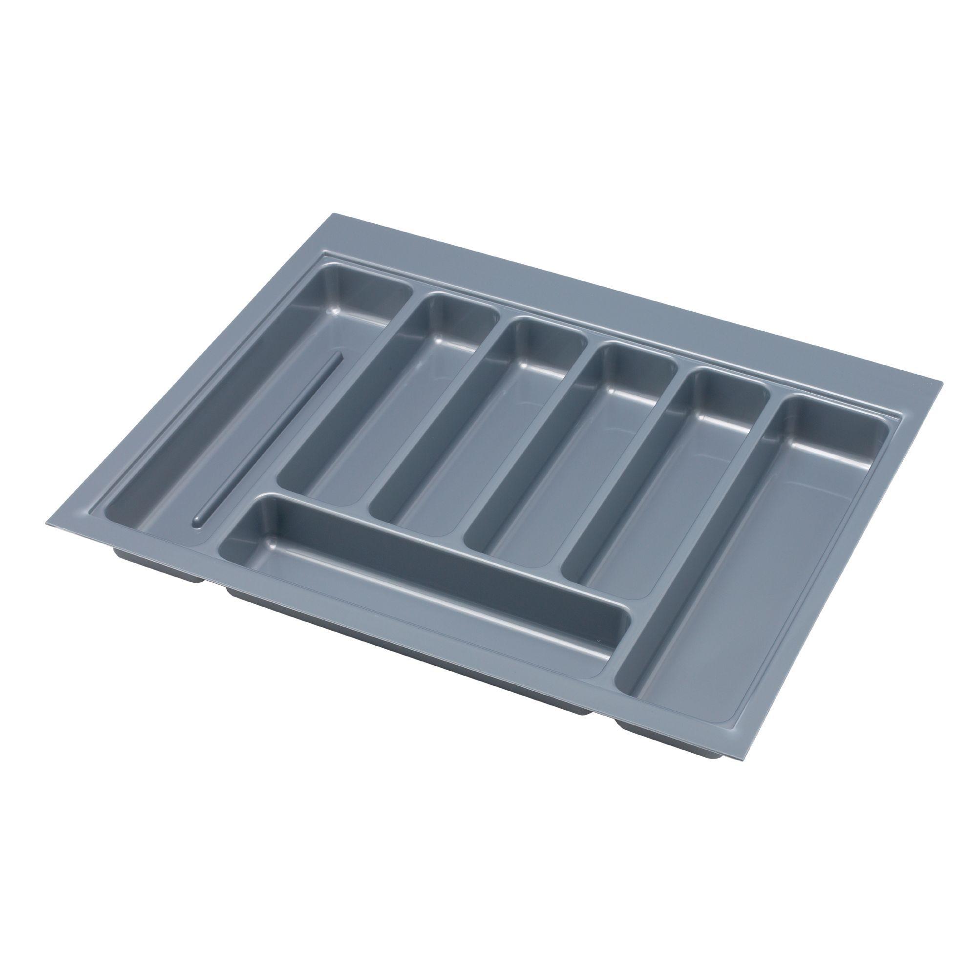 IT Kitchens Grey Plastic Kitchen Utensil Tray