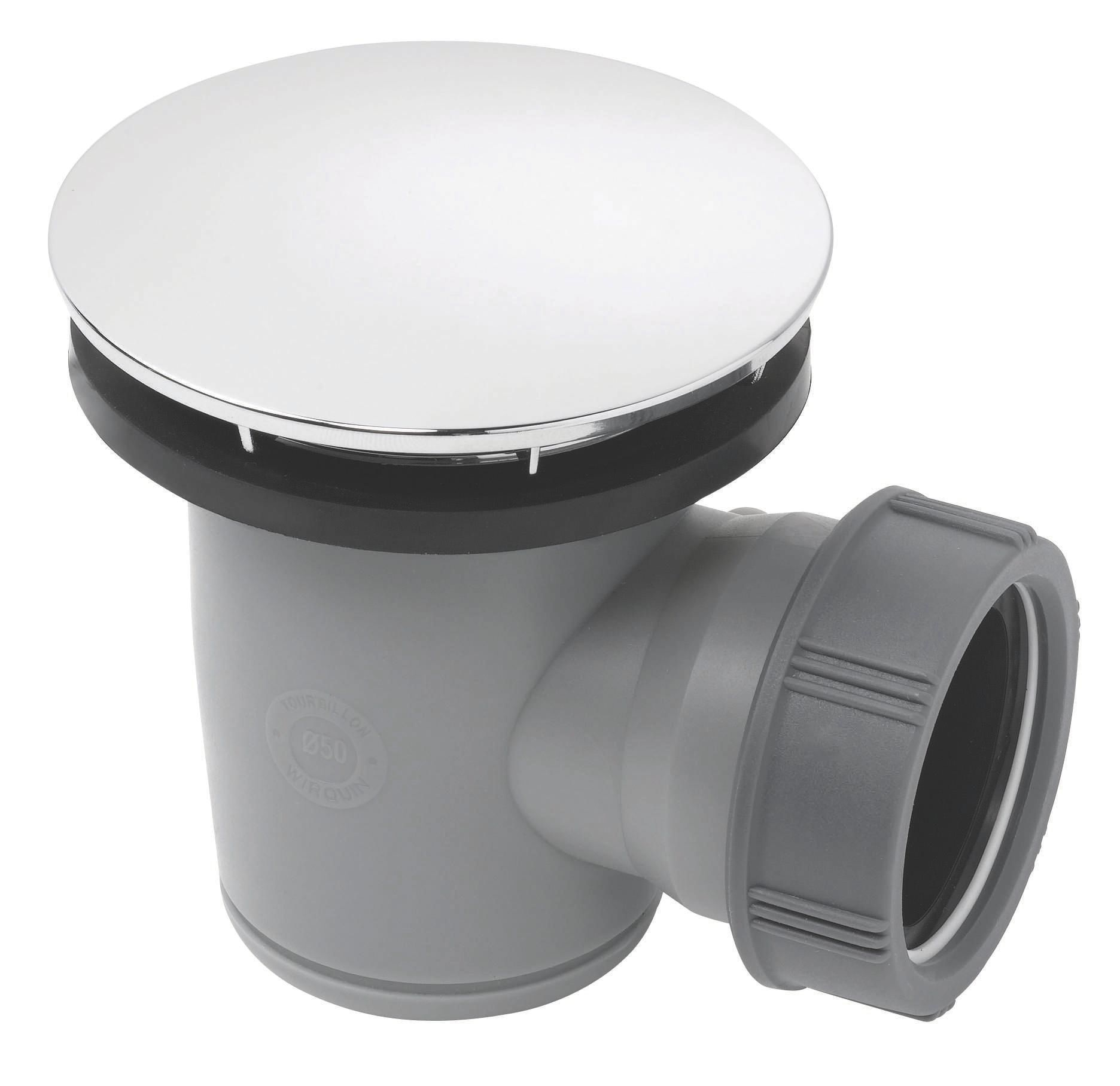 Wirquin Shower Waste Dia 50 Mm Departments Diy At B Amp Q