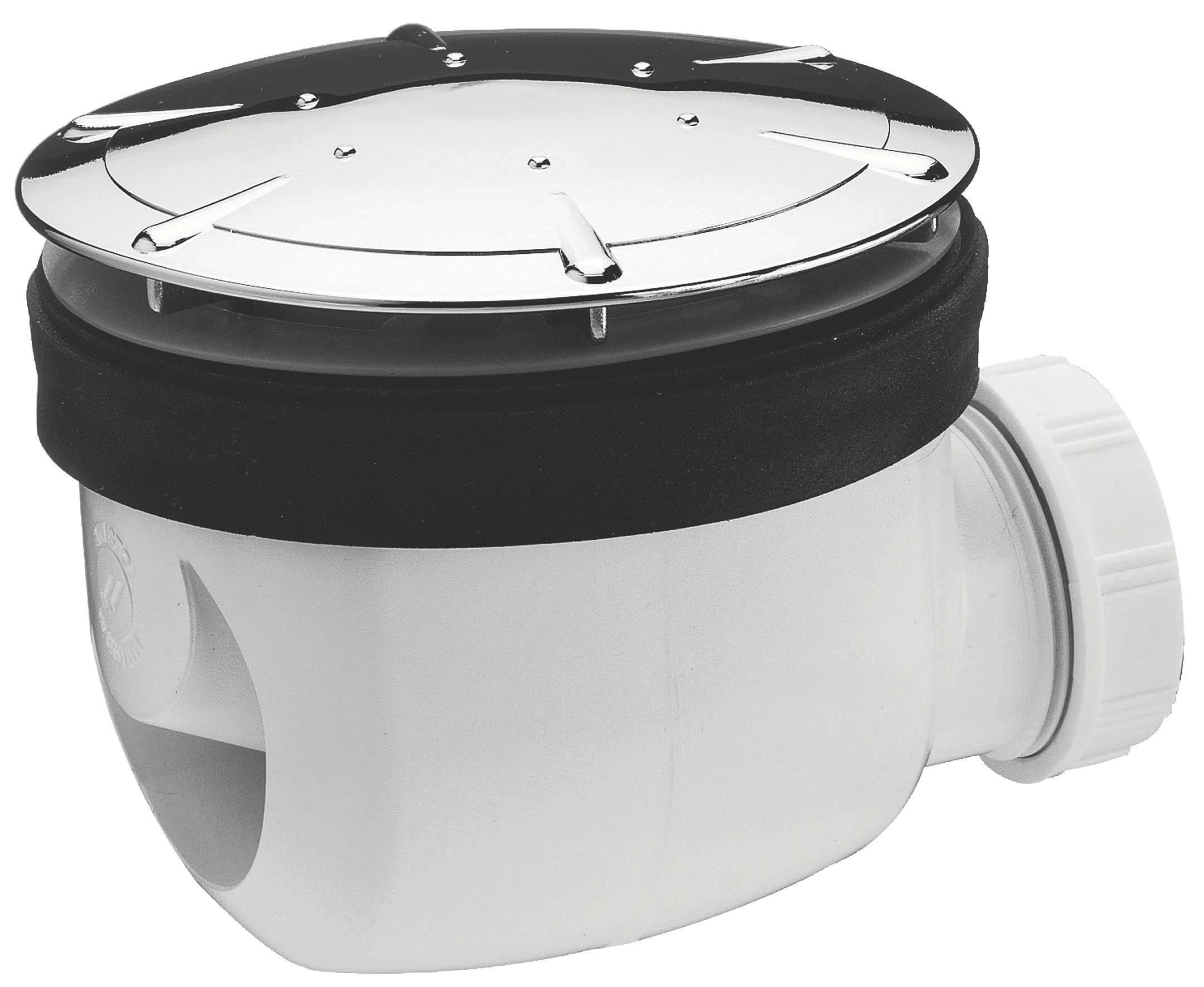 Wirquin Shower Waste Dia90 Mm Departments Diy At Bq