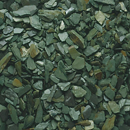 Blooma Green Decorative slate chippings