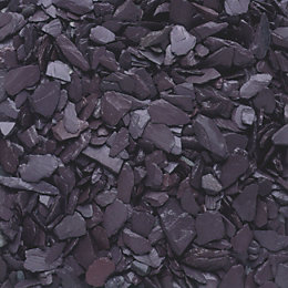 Blooma Blue Decorative slate chippings