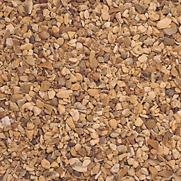 Blooma Golden brown Gravel Decorative stone