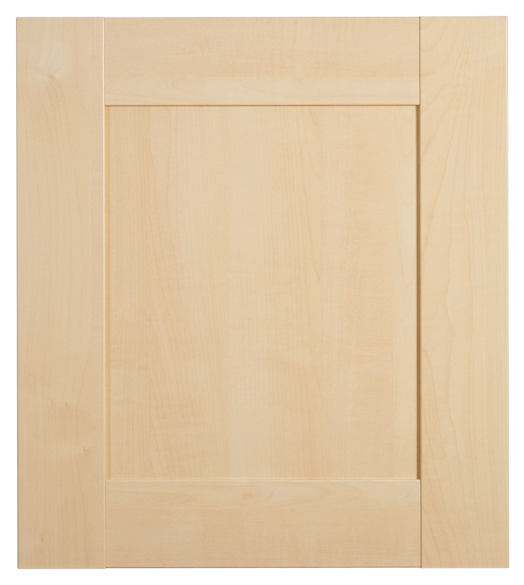 Maple shaker cabinet doors mf cabinets for Kitchen cabinets 500mm