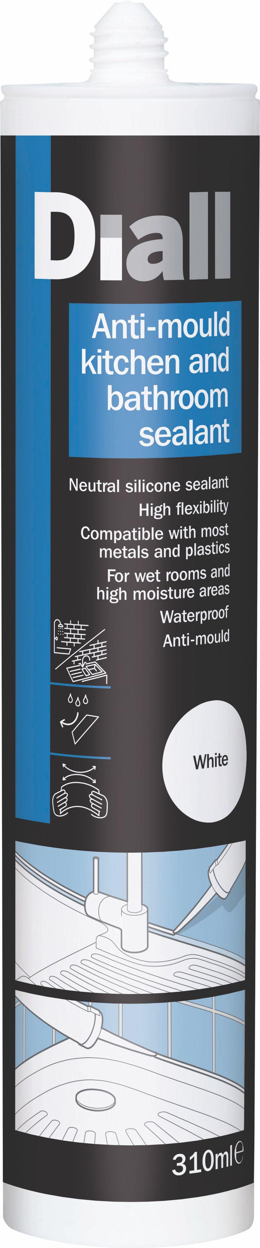 Diall Ready to Use Anti Mould Kitchen & Bathroom White ...