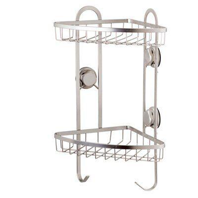 Cooke Amp Lewis Best Lock Satin Steel Shower Caddie