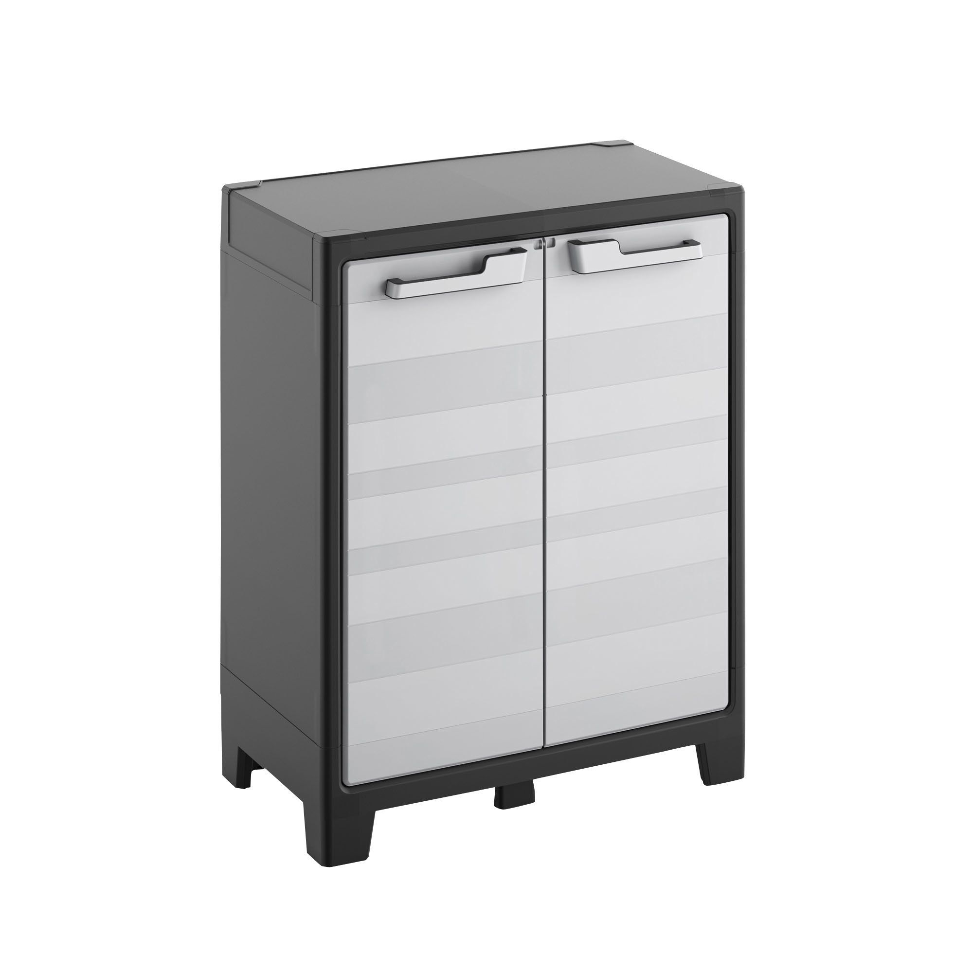 B Q Kitchen Cabinets Sale: Form Flexi-store 2 Shelf Plastic Cabinet