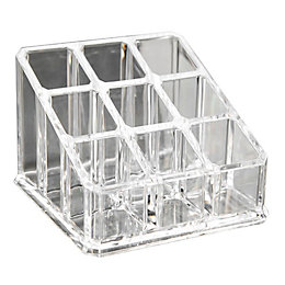 Cooke & Lewis Clear Lipstick Organiser
