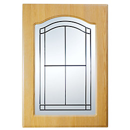 IT Kitchens Chilton Traditional Oak Effect Glazed Door
