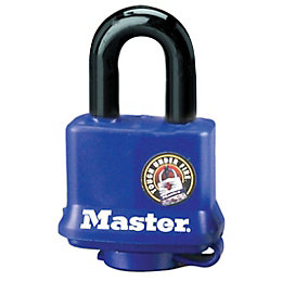 Master Lock Steel 4-Pin Tumbler Cylinder Open Shackle