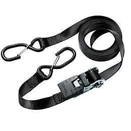 Master Lock Black 4.25M Ratchet Strap, Pack of