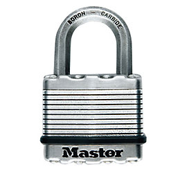 Master Lock Excell Stainless steel Double ball bearing