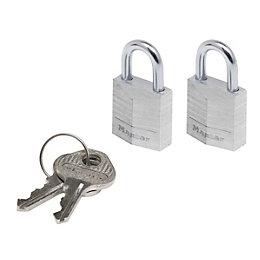 Master Lock Aluminium Pin Tumbler Open Shackle Padlock