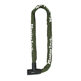 Master Lock Green Steel Chain lock x 1m