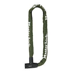 Master Lock Green Steel Chain lock x 1m