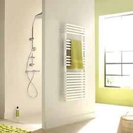 Acova Cala White Towel Warmer (H)721mm (W)500mm
