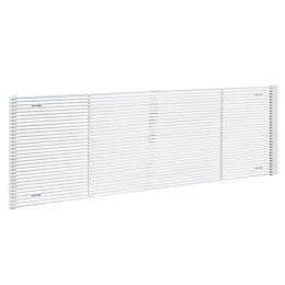 Acova Striane Horizontal Radiator White (H)608 mm (W)900