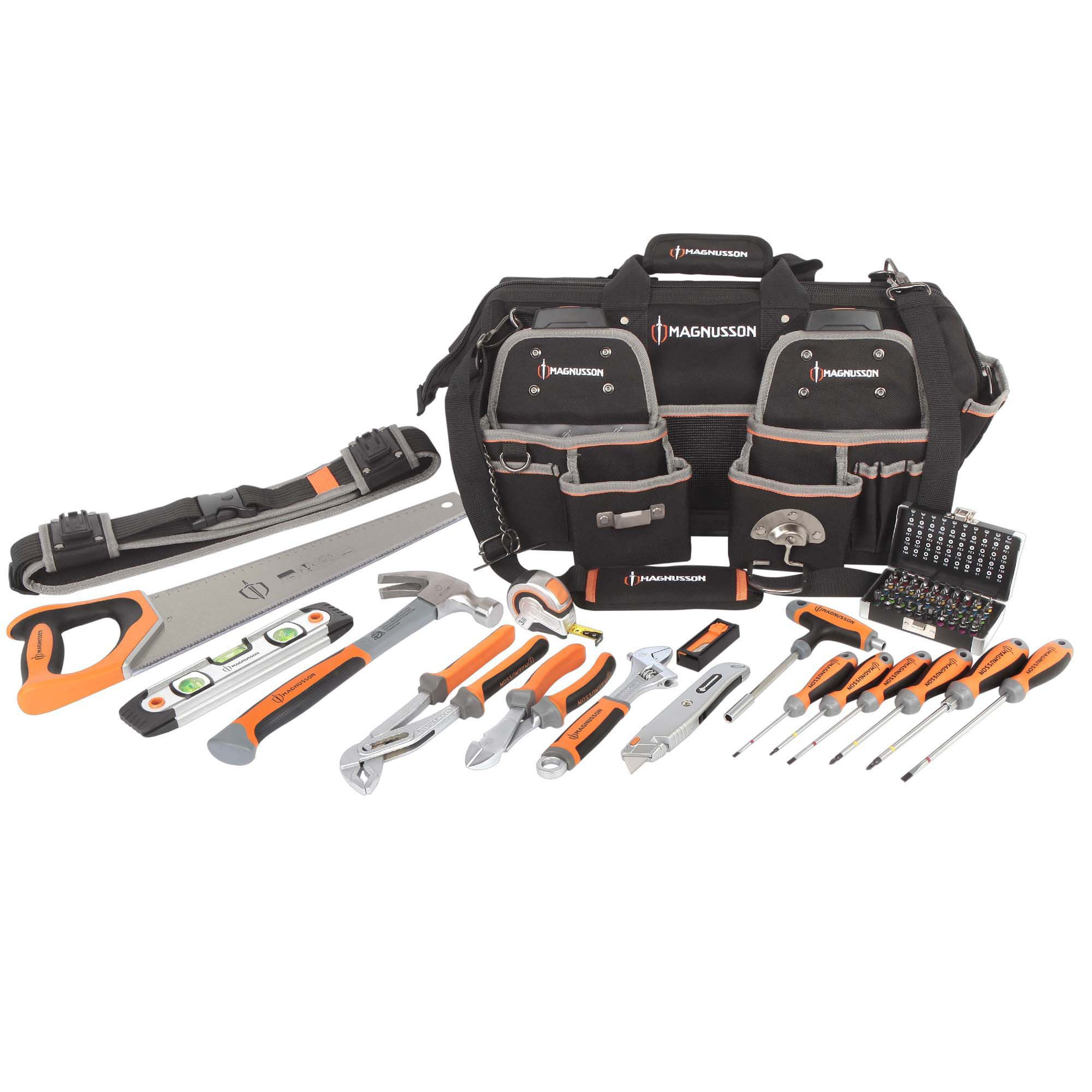 Magnusson 66 Piece Heavy Duty Tool Kit